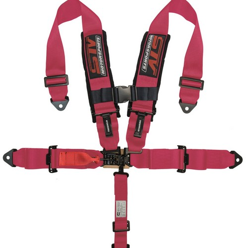 Racing Harness 5 point 3 Pink 1
