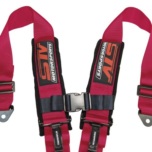 Racing Harness 5 point 3 Pink 4