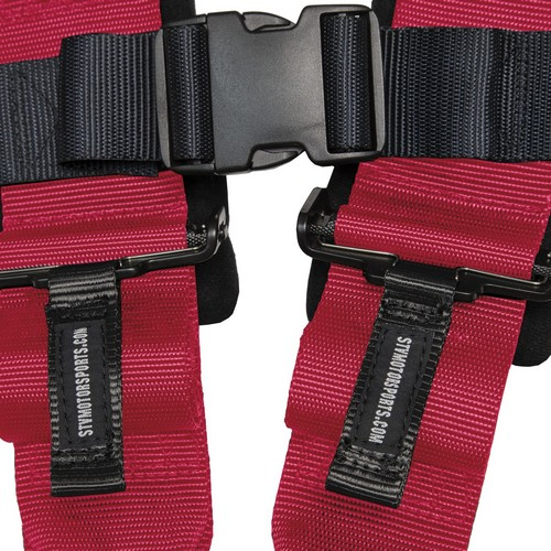 Racing Harness 5 point 3 Pink 6