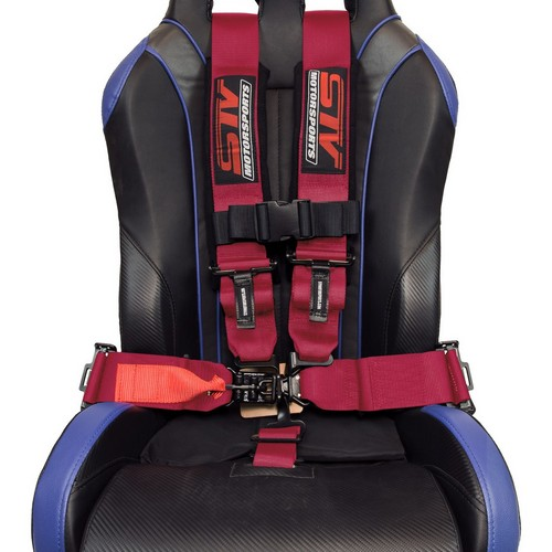 Racing Harness 5 point 3 Pink 7