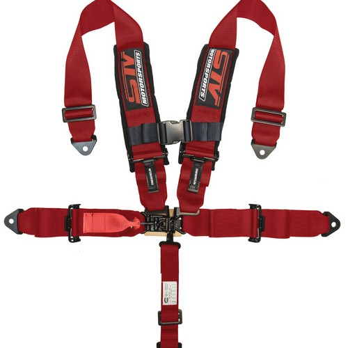 Racing Harness 5 point 3 Red 1