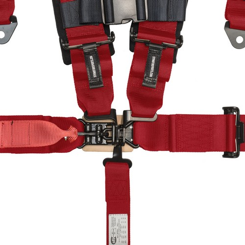 Racing Harness 5 point 3 Red 2