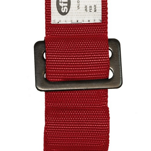 Racing Harness 5 point 3 Red 3