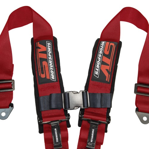 Racing Harness 5 point 3 Red 4