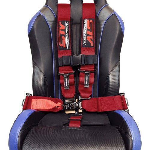 Racing Harness 5 point 3 Red 7