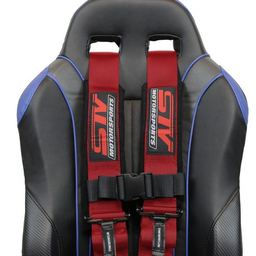 Racing Harness 5 point 3 Red 8