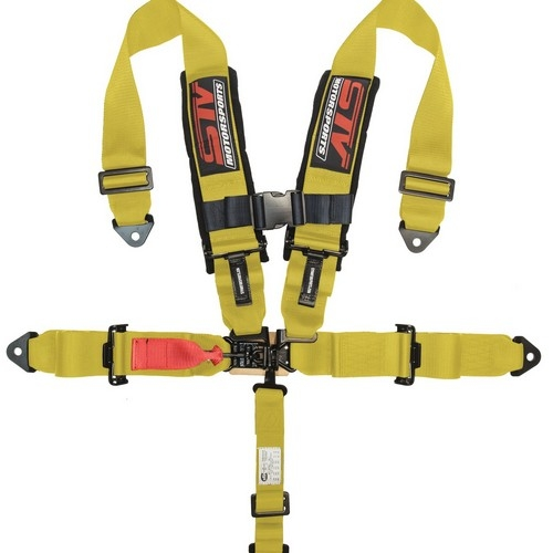 Racing Harness 5 point 3 Yellow 1