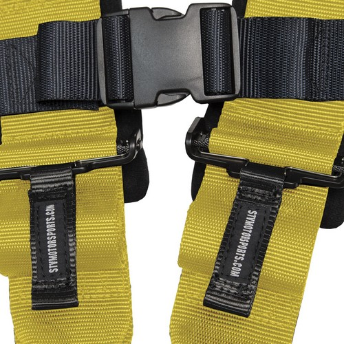 Racing Harness 5 point 3 Yellow 6