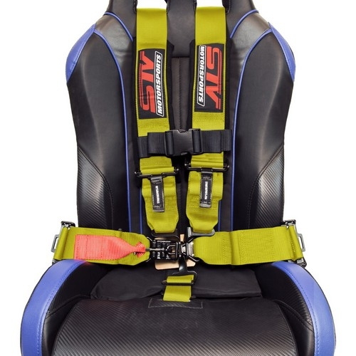 Racing Harness 5 point 3 Yellow 7