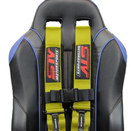Racing Harness 5 point 3 Yellow 8