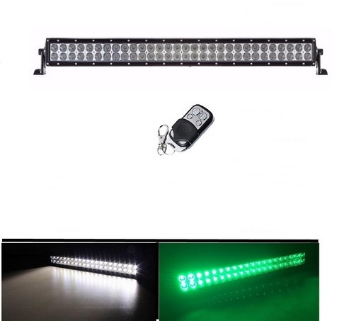 Dual color whitegreenstrobe 30 180w off road led light bar stv dual color whitegreenstrobe 30 180w off road led light bar led light bar white green aloadofball Choice Image