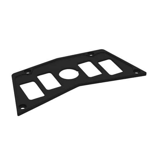 Black Aluminum Dash Panel Polaris RZR 900 3