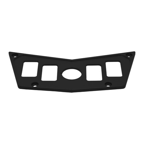 Black Aluminum Dash Panel Polaris RZR 900 4
