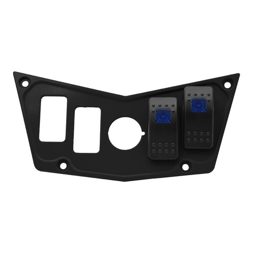 Black Aluminum Dash Panel Polaris RZR 900 9