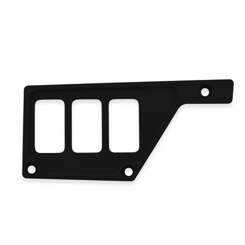 Black Aluminum Side Dash Panel Polaris RZR1000 5