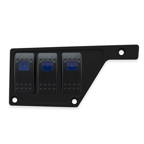 Black Aluminum Side Dash Panel Polaris RZR1000 7