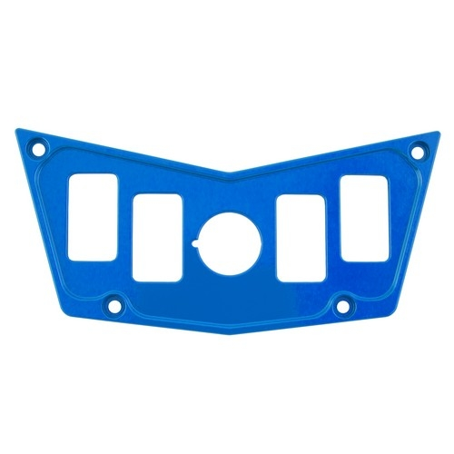 Blue Aluminum Dash Panel Polaris RZR 900 1