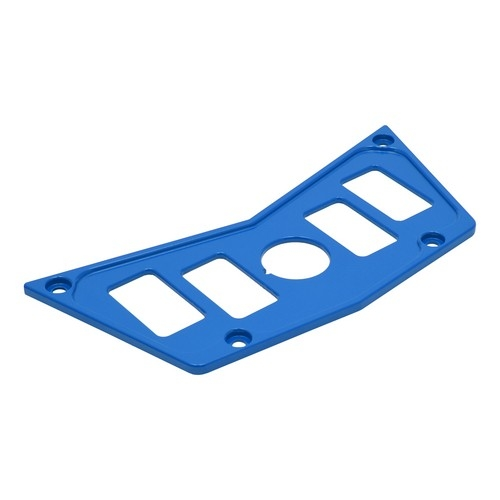 Blue Aluminum Dash Panel Polaris RZR 900 2