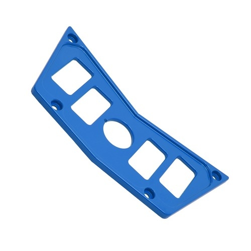 Blue Aluminum Dash Panel Polaris RZR 900 5