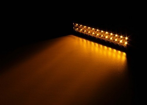 Led Light Bar White – Amber Strobe 5