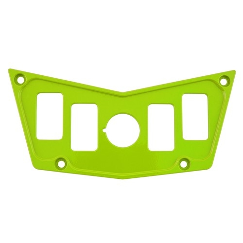 Lime Aluminum Dash Panel Polaris RZR 900 1