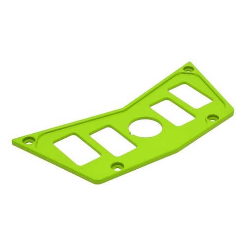 Lime Aluminum Dash Panel Polaris RZR 900 2