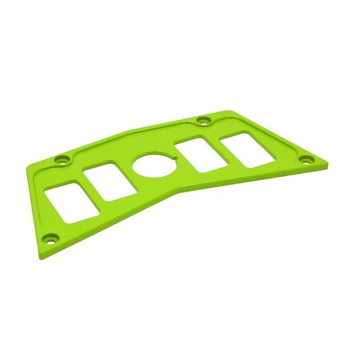 Lime Aluminum Dash Panel Polaris RZR 900 3