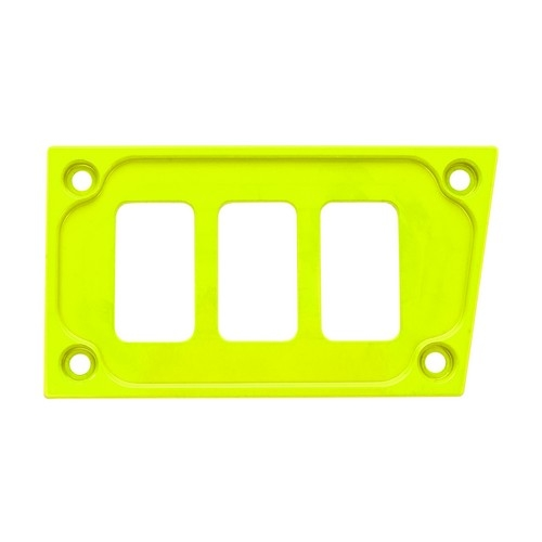 Lime Aluminum Lower Side Dash Panel Polaris RZR1000 1