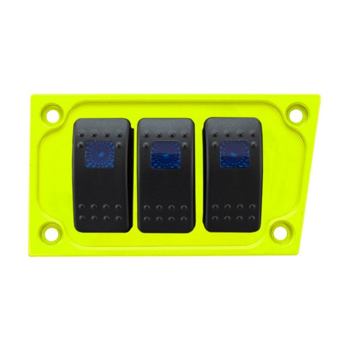 Lime Aluminum Lower Side Dash Panel Polaris RZR1000 2