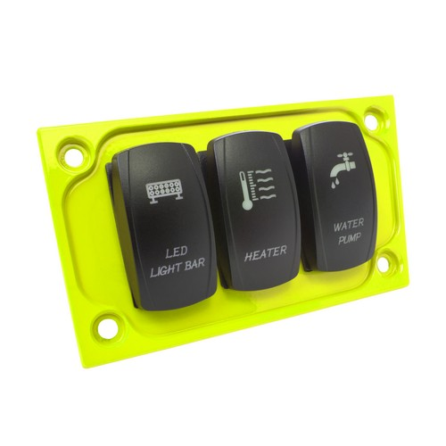 Lime Aluminum Lower Side Dash Panel Polaris RZR1000 5