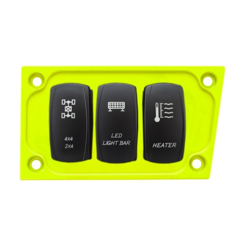 Lime Aluminum Lower Side Dash Panel Polaris RZR1000 7