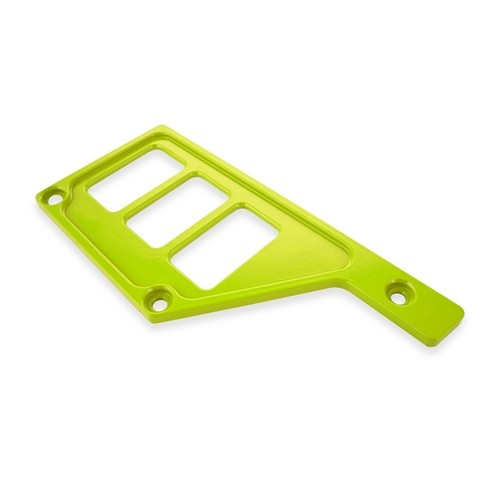 Lime Aluminum Side Dash Panel Polaris RZR1000 1