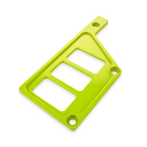 Lime Aluminum Side Dash Panel Polaris RZR1000 4