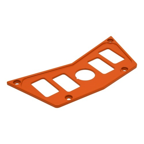 Orange Aluminum Dash Panel Polaris RZR 900 2