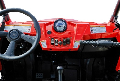 Red Aluminum Dash Panel Polaris RZR 900 12