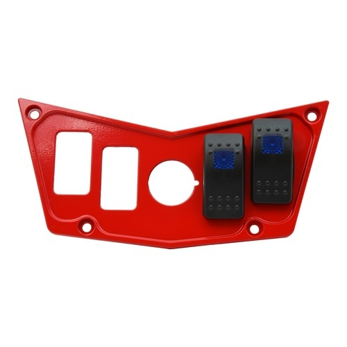 Red Aluminum Dash Panel Polaris RZR 900 9