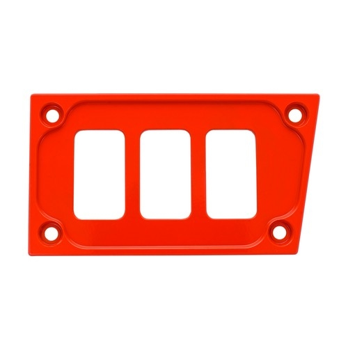Red Aluminum Lower Side Dash Panel Polaris RZR1000 1
