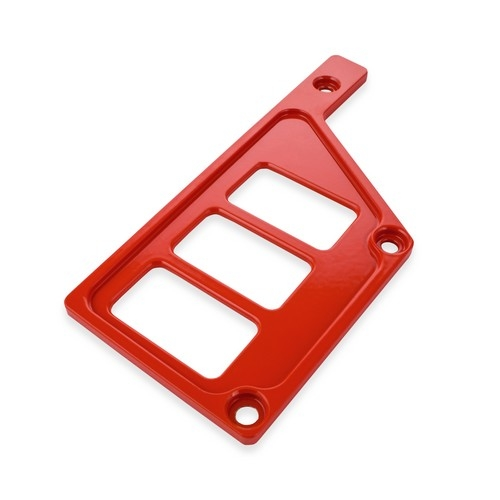 Red Aluminum Side Dash Panel Polaris RZR1000 6