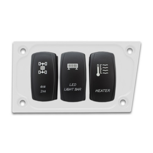 White Aluminum Lower Side Dash Panel Polaris RZR1000 2