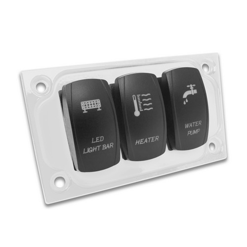 White Aluminum Lower Side Dash Panel Polaris RZR1000 7