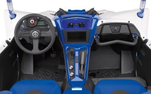 Yamaha YXZ Dash Panel Blue (5) 4
