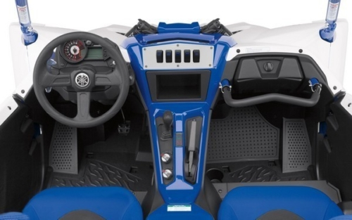 Yamaha YXZ Dash Panel White (5) 2