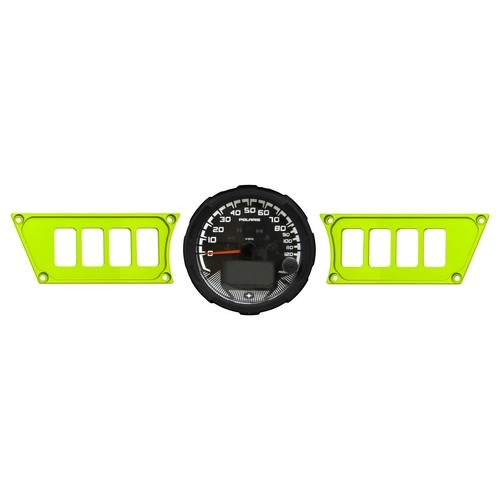 Polaris RZR 1000 Aluminum Dash Panel 1