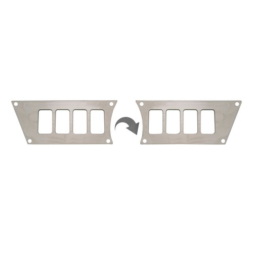 Polaris RZR 1000 Aluminum Dash Panel (1)