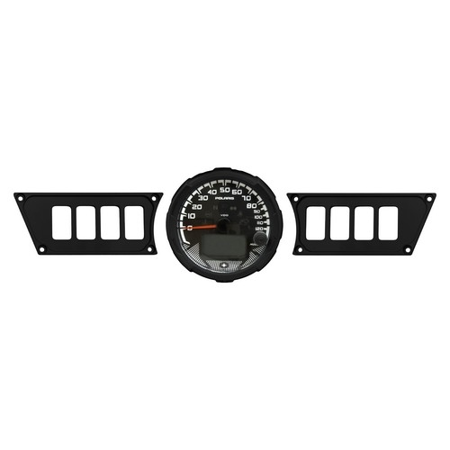 Polaris RZR 1000 Black Dash Panel (1)