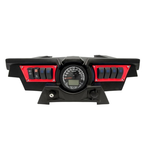 Polaris RZR 1000 Red Dash Panel (4)