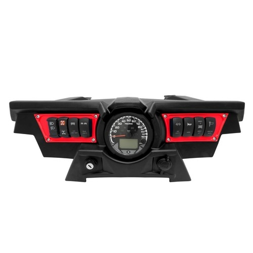 Polaris RZR 1000 Red Dash Panel (5)