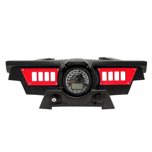 Polaris RZR 1000 Red Dash Panel (6)