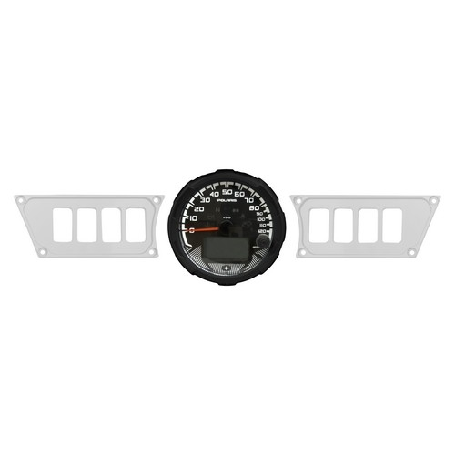 Polaris RZR 1000 White Dash Panel (1)