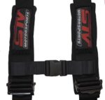 Racing Harness 5 Point Sewn In Pads – Black 3